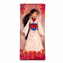 Muñeca Mulan Barbie Disney Store Importado Original