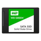 Disco Sólido Interno Western Digital Wd Green Wds480g2g0a 480gb Verde