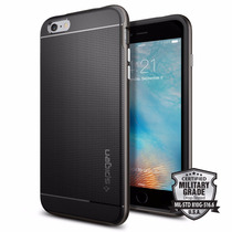 Funda Spigen Neo Hybrid Iphone 6/6s Plus - Gunmetal Gris