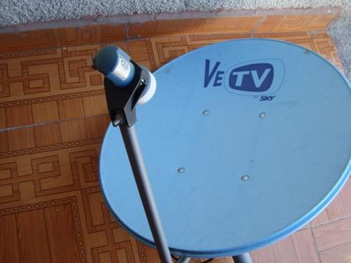 Antena fta parabolica satelital vetv con lnb integrado - Precio antena parabolica ...