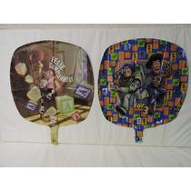 Globos Toy Story Fiestas 5 Pz Metálicos Helio 18 Pulgadas