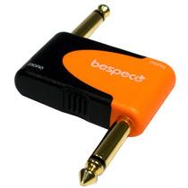 Conector Plug Adaptador Pedal Bespeco Slad160 6.3mm A 6.3mm