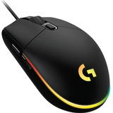 Mouse Gamer Logitech Óptico G203 Lightsync Alámbrico Usb