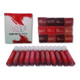 12 Labiales Dose Of Colors Mayoreo