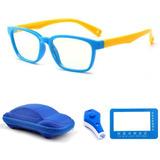 Lentes Niños Protección Luz Azul Videojuego Tableta Azul Ama