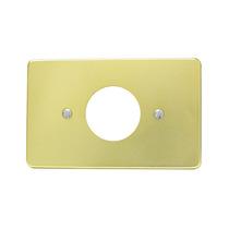 Placa De Aluminio Para Contacto Sencillo Surtek 136608