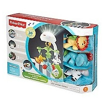Movil Proyector Rainforets 3 En 1 Fisher Price En Oferta