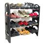 Mejor Organizador Del Estante Del Zapato Por Un Armario Del