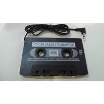 Cassete Adaptador Mp4, Mp3 . Etc, Y Audifonos Gratis