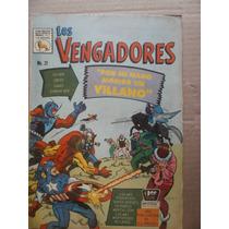 Los Vengadores # 21 The Avengers # 15 La Prensa Mexico 1966