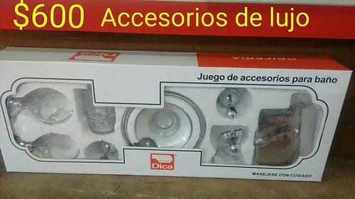 Accesorios para ba o 400 dcoyd precio d m xico for Precios de accesorios de bano