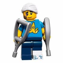 Lego Accidentado Lesionado Serie 15 Sellado Legobricksrfun