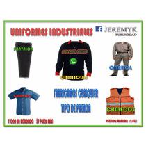 Uniformes Industriales, Oberol, Bata, Chalecos