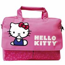 Maletin Gina Hello Kitty 15.4 Organizador Interno Rosa Kt4