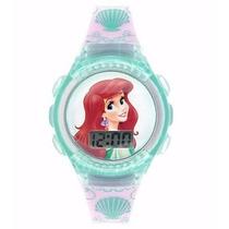 Relojes De Princesariel The Little Mermaid Lcd Watch