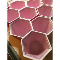 Vasos Hexagonales Para Beer Pong, Para Fiesta. 2 Bolas Inc.