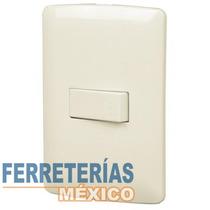 Placa Con 1 Interruptor Sencillo Voltech 48660