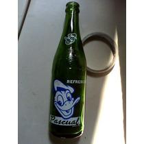 Pato Pascual Botella Antigua De Refresco Vintage Vidrio