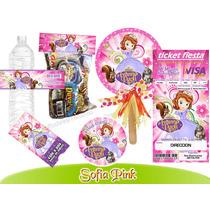 Invitaciones Princesa Sofia 1 Kit Imprimible Personalizado