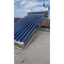 Calentador Solar 10 Tubos 130 Litros 3-4 Personas