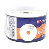 Dvd-r Printable Verbatim Blanco 50 Pzas  Leer Descripción