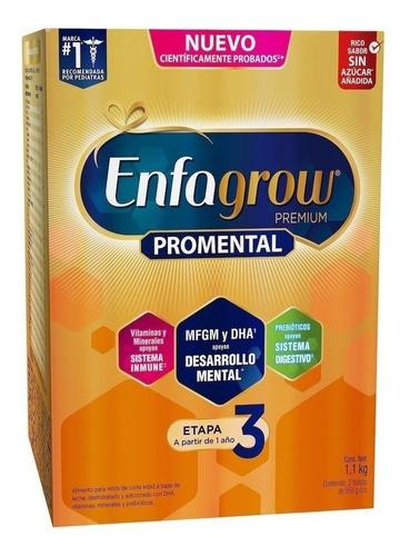 Fórmula Infantil En Polvo Mead Johnson Enfagrow Premium 3 Sabor Natural Por 6 Unidades De 1.1kg
