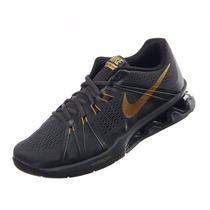 Tenis Nike Reax Lightspeed Negro Oro Nuevo Originales