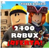 2400 Robux En Roblox ¡el Mejor Precio!