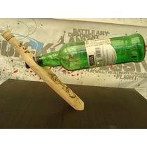 Habana Cuba Bucanero Porta Botella Madera Vino - Changoosx