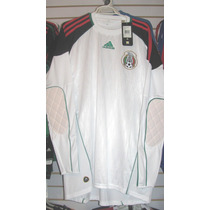 Playera Adidas De Mexico De Portero Mundial 2010 Talla M