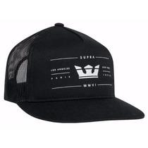 Gorra Supra Hats Hombre Nueva Original Negra $580