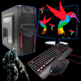 Computadora Pc Gamer Adata Xpg 8gb Ram Monitor 1tb Two V1.0