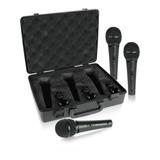 Behringer Xm1800s Juego De 3 Micrófonos Con Estuche Full