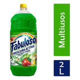 Fabuloso Limpiador Líquido Frescura, Pasión De Frutas, 2 L