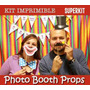 Kit Imprimible Photo Booth Props Bodas Cumpleaños Fiestas