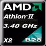 $485 Amd Athlon Iix2 3.40ghz/2mb/socket-am3 Procesador B28