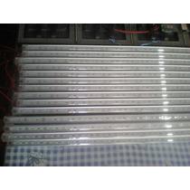 5 Lámparas Led 12v 50cm Azul Blanco Para Microbus Coche Casa