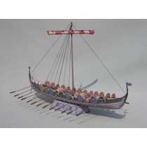 Barco Vikingo (modelos De Papel Para Armar)
