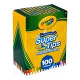 Marcadores Plumones Crayola Super Tips 100 Envio Inmediato!