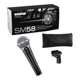 Shure Microfono Profesional Dinamico Sm58 Original Garantia