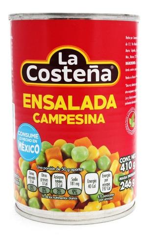 La Costeña Ensalada Campesina Lata 410 Gr