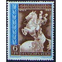 0673 Alemania 2° G M Semi Postale 6+14 Mint L H 1943