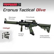 Tippmann Cronus Tactical Ol Marcadora Gotcha Paintball Rifle