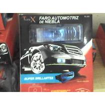 Faro Antiniebla Automotriz Tunix Rectangular Azul