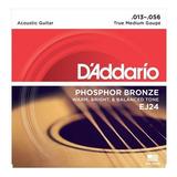Daddario Cuerda Para Guitarra Acustica Ej24