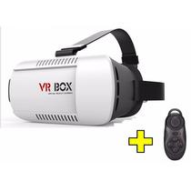 Vr Box Lentes Realidad Virtual 3d +control Bluetooth