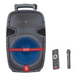 Bafle Amplificado Recargable Mic Bocina 12 Bluetooth 7912