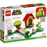 Set De Contrucción Lego: Casa De Mario Y Yoshi