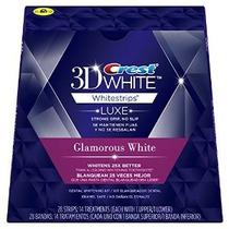Crest 3d Blanca Luxe Blanco Glamorosa 28 Tiras De 25 X Mejor