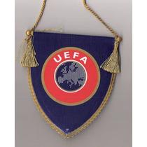 Banderin Original Uefa Importado